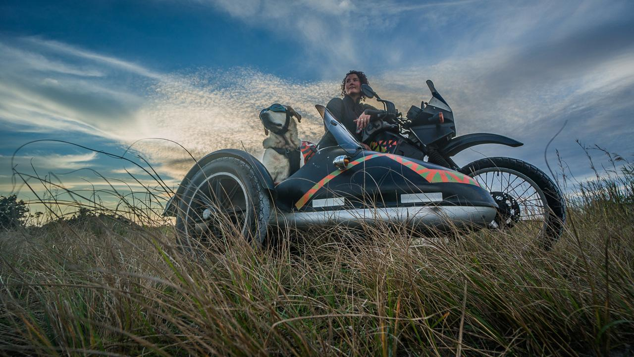 Dog Goes on Epic Cross-Country Road Trip in Sidecar
